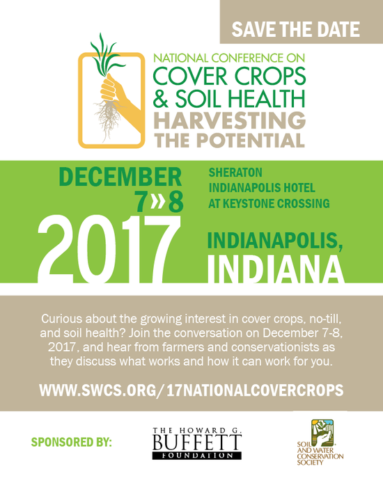national cover crops conference soil and water conservation society