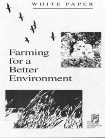 Cover of Farming for a Better Environment