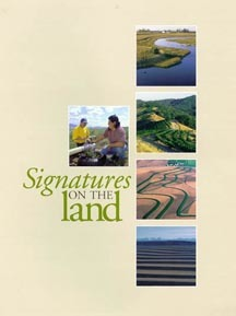 Cover of Signatures on the Land