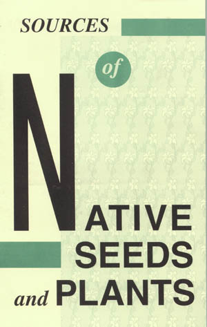 Cover of Sources of Native Seeds and Plants